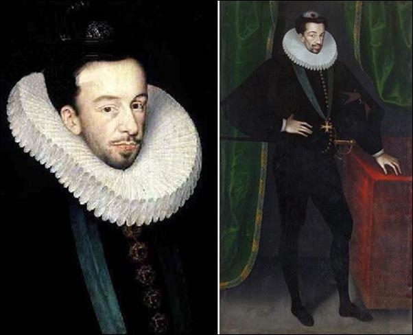 Portrait de Henri III, 1578-1585