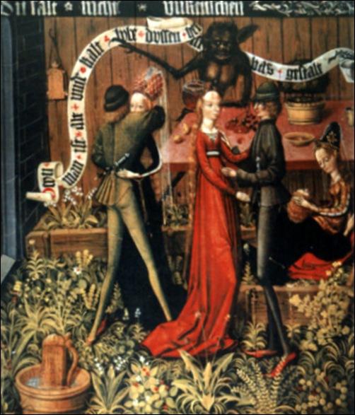 Maître de Danzica, Ne pas commettre d'actes impurs sixième commandement, 1490