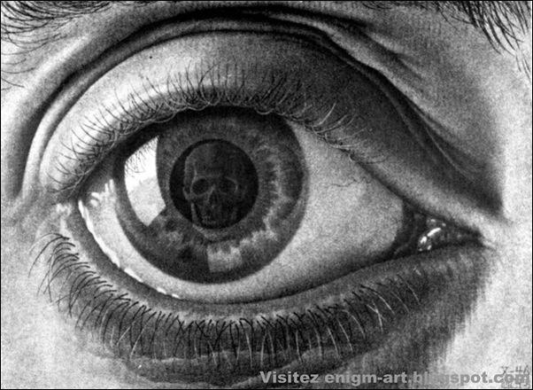 Escher, L'oeil, 1946.bmp [1600x1200]