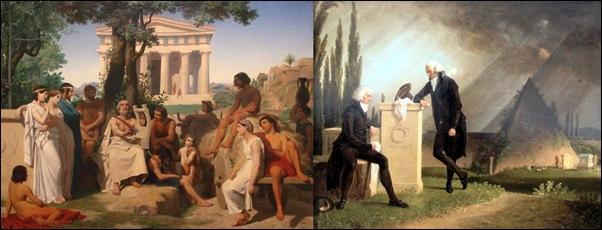 Peinture philosophique et maçonnique