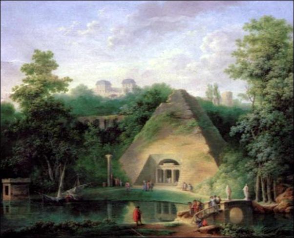 Charles-Louis Chatelet, Pyramide de Mauperhuis, 1785