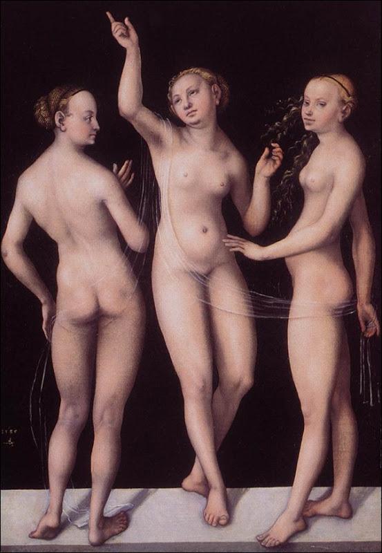 Cranach, Les trois grâces