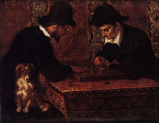 Ludovic Carrache, Le jeu d'échecs 1590