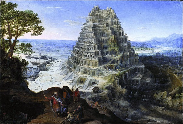 Lucas Van Walkenborch, Tour de Babel