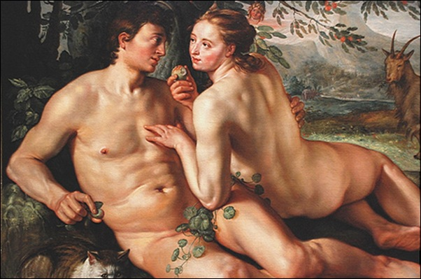 Goltzius, Adam et Eve
