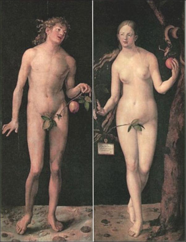 Dürer, Adam et Eve