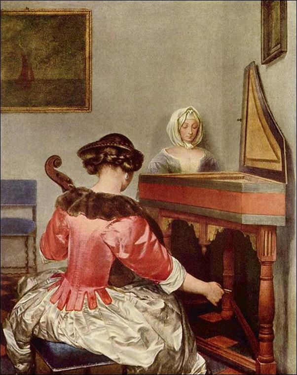 Gerard Ter Borch, La violoncelliste