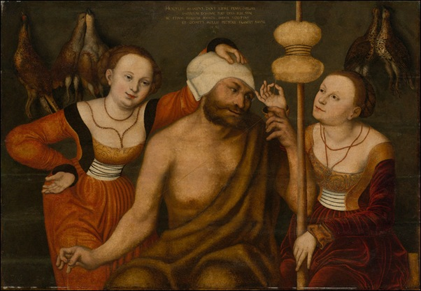 Cranach, Hercule chez Omphale