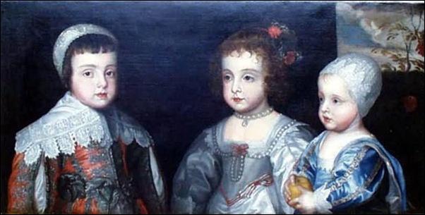 Van Dyck, Les enfants de Charles Ier