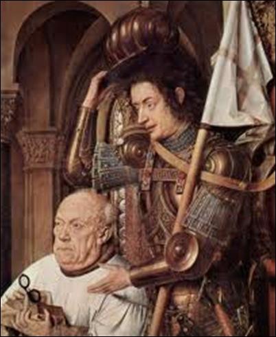 Van Eyck, La madone et le chanoine Van der Paele