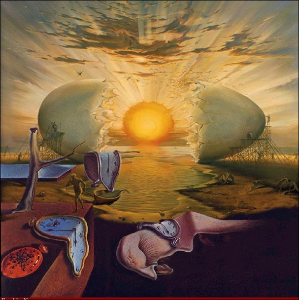 Dali,Sunrise