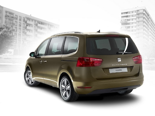 Seat Alhambra. SEAT Unveils its All-New 2010