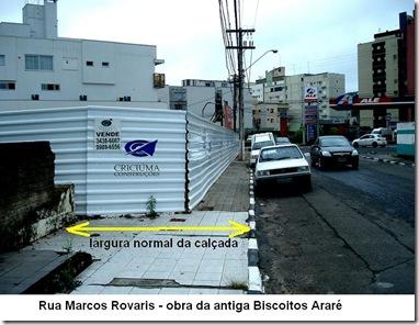 Invasão de calçadas 09