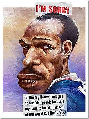 Thierry Henry-mão boba