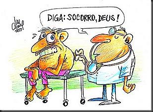 Medicina precária_falta de remédios