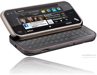 Black Brown Nokia N97 Mini