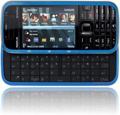 Blue Nokia 5730 XM