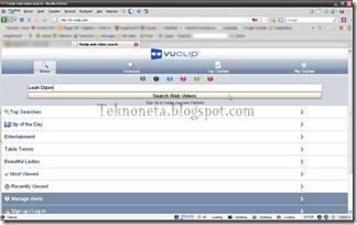 Membuka Vuclip Dengan iPhone User Agent