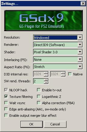 GSDX D3D Software