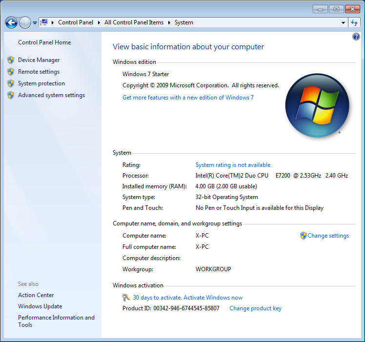 Windows_7_RTM_Starter_RAM_2GB_Control_Panel_System