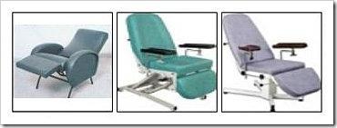 Cadeiras Especiais Articuladas.