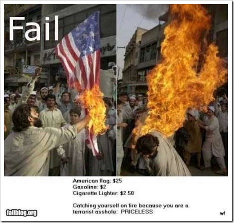 Terrorist Fail.