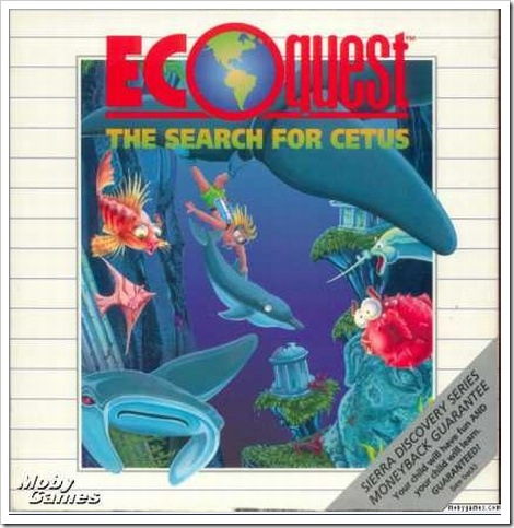 Ecoquest Game Cover | Ecoquest - The Search for Cetus.