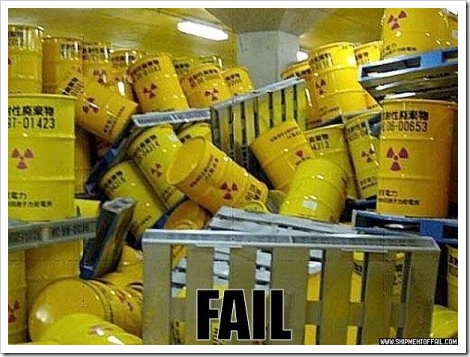 Toxic Waste Storage Fail.
