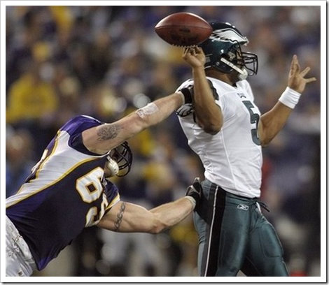 Funny Minnesota Vikings Picture Jared Allen