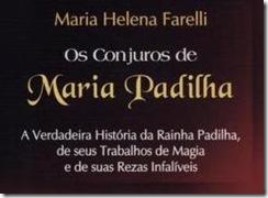 Livro de Maria Padilha.