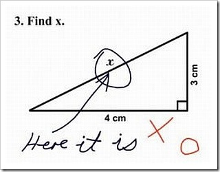 Funny Maths Solution - Find X.