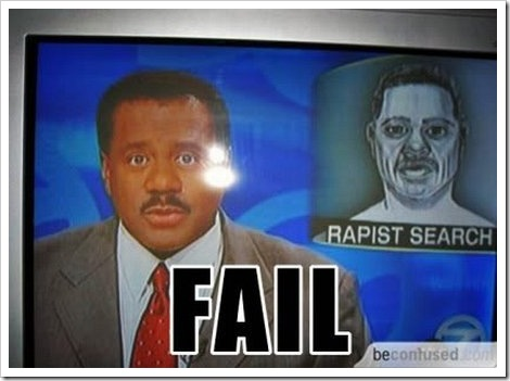 Rapist Search Fail.