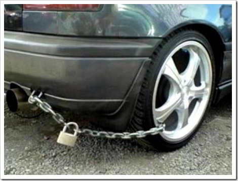 Funny Anti-Theft System.
