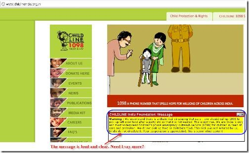 Dial1098-Child Helpline