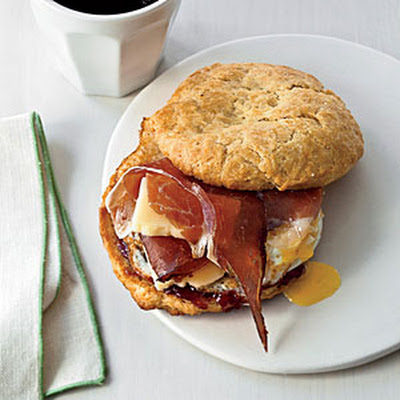 Breakfast Biscuit Sandwiches