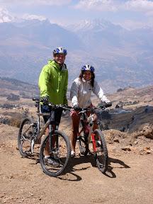 Joshua & Vasilisa Mountain Biking (Huaraz, Peru)
