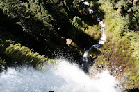 View from Top of Waterfall (Pucon, Chile)