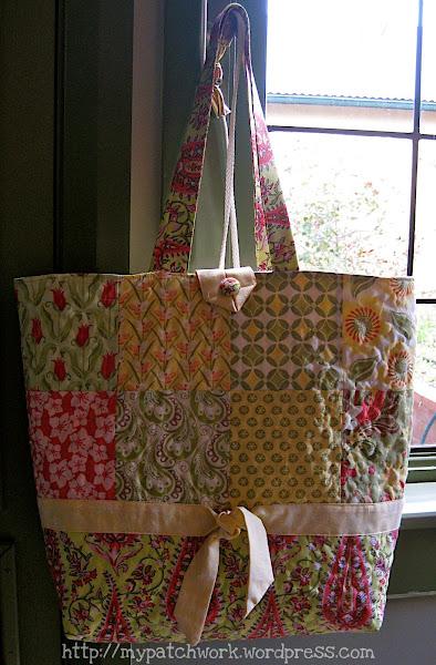 Bolso patchwork aprender manualidades es - Manualidades patchwork bolsos ...