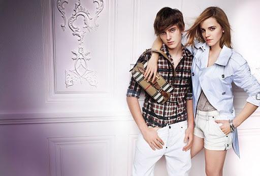 emma watson burberry brother. {ADbitious iStyle} Emma Watson