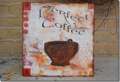 perfect coffee red