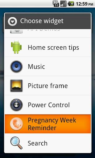 Pregnancy Week Reminder