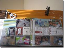 Project Life Week 5 spread