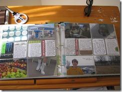 Project Life Week 6 spread