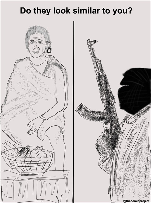 Tribal-Maoist-Toon