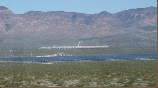 Solar panels south of Henderson