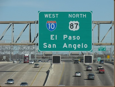 Leaving San Antonio