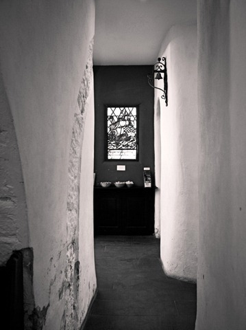 Abbot House - monochrome