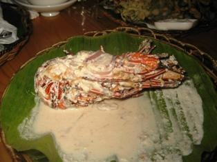 Kawayanan Grill Ginataang Lobster