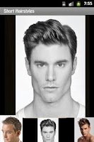 Screenshot of Hairstyles For Men Book Pro