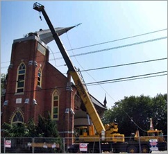 Picton Church Demolition y